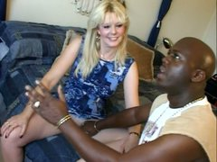 The husband of Skye Hamil asks black dude to fuck her