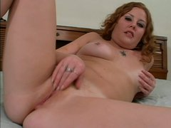 Plump lewd wanker Cherry Poppens thirsts for rubbing and tickling her fancy