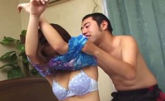 Attractive chick Ami has a kinky foreplay