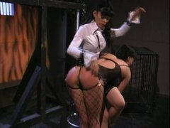 Lesbians Jezebelle Bond  and Natasha Sweet enjoy each other