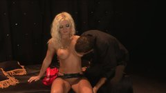 Voracious blonde skank Barbara Summer is screwed hard in a hardcore porn vid