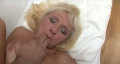 Lewd salty granny Renee gets fucked up in doggy pose