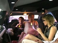 whorable blond ladies seduce dudes for a fuck in the car