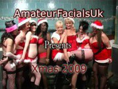 Xmas party 3 amateur facials uk