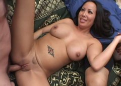 Asian bitch Jazzmin jerks cock and slurps its pole