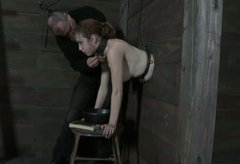 Poor milf Dixon Mason has no idea what BDSM master is gonna do with her pussy