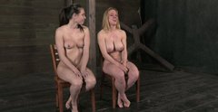 Casey Calvert and her sizzling girlfriend speak out while being naked