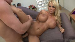 Tremendous blondie Holly Halston gets shagged by Mark Wood