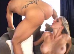 Kinky Roxanne Hall loves eating her lover's asshole