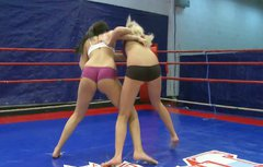 Kinky wrestler Diana Stewart gonna beat her sexy and spoiled rival