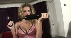Roxanne Hall and her new dildo fellow