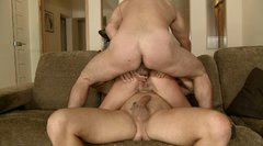 Outrageous Romanian slut Belle De Jour gets her holes stretched as hell in a hardcore threesome
