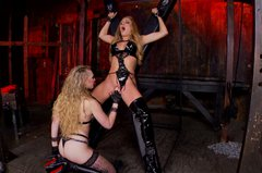 Amy Brooke extremely  hot bdsm scene with her horny girlfriend