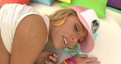 Make it hot! Nicole Aniston moves her ass fast in cowgirl style