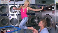Breanne Benson having sex fun in the laundry room