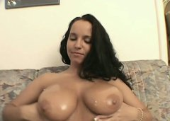 Laura Lion getting her breasts fondled and pussy licked