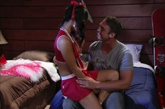 Handsome college stud gets awesome blowjob from Asian whore Asa Akira