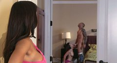 Slutty aunty Phoenix Marie punishes her niece and fucks her boyfriend