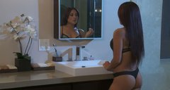 Kaylani Lei dreams about fucking the guy and realizes her dream
