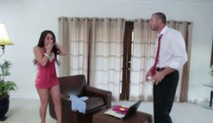 Delectable brunette lady Lola Foxx gets her snatch licked