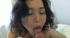 Doggy style fuck and blowjob by milf whore Junko Morikawa