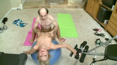 Buldheaded instructor eats  Chastity Lynn pussy juice