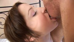 Big dick and sugar lips have romantic date