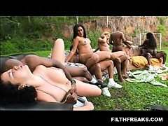 brazilbang.com presents: A group of Horny Brazilian chicks
