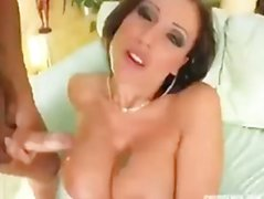 The Cumshot on tits compilation