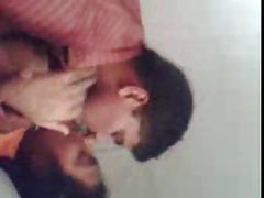 Southindian Mallu Girl's BIG Boobs sucking by her BF at home