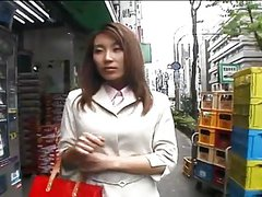 Horny Japanese girl and a day at work-by PACKMANS