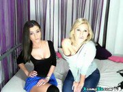 Hot Cam Girl Plays On Webcam