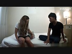 Big ass student sex on bed