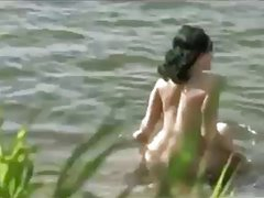 amateur couple sex in nudist beach