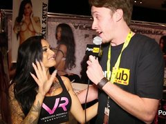 PornhubTV Alby Rides Interview at eXXXotica 2014 Atlantic City