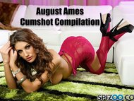 August Ames Cumshot Compilation