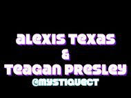 Alexis Texas and Teagan Presley performing a strip club dance