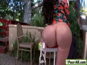 Phat ass hoe Amy Anderssen hard fucked with big shaft