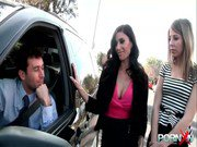 PornXN Gia DiMarco and Chastity Lynn anal fist fucked by James Deen