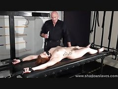 Bondage Rack Punishments And Needle Tit Torture Of Crying Slavegirl Isabel Deal In Redhead Bdsm And Piercing Torments In The Dungeon