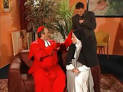 Nun Pays Her Penance !