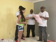 Teens First Time With BBC GangBang