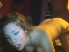 girl fucks her bf on cam