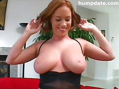 Amee gets deep anal penetration