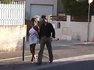 Sabrina Gourmande French Milf picked up on the street