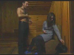Hottie Fucks Her BF In The Cabin