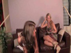 Lesbo MILF licking a teen&#039_s hot body