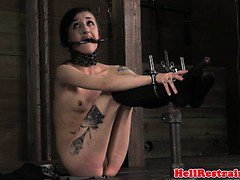 Mouth ravaged submissive gets it rough