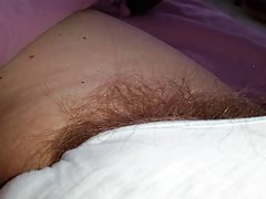 tired hairy pubes sticking out og white pantys