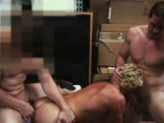 Gay bait straight pawn shop surfer spit roasted